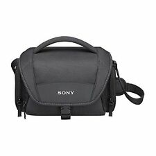 Sony LCSU21 Soft Carrying Case for Cyber-Shot and Alpha NEX Cameras Black