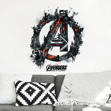 The Avengers Hero Wall Sticker Vinyl Decal Kids Boys Room Decor Mural Art Symbol