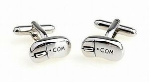 Cufflinks Intrenet PC Mouse, New, 1 Pair