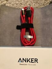 Anker Powerline+ Micro USB 6ft Cable Double Braided Nylon for Samsung Nexus LG