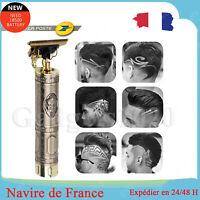 Kit De Tondeuse à Cheveux Et à Barbe Homme Sans Fil Rechargeable USB 1200mAh