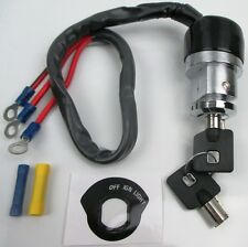 Ignition Switch, 3 Wire Dyna91-05, XL79-98 FX82-93 FXS77-85 Harley Custom Use