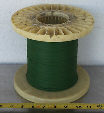 GUDEBROD BUTTWIND CUSTOM FISHING ROD WINDING WRAP GREEN ENTIRE SPOOL #4