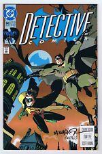 Detective Comics #648 VF/NM 1st Full Spoiler Signed w/COA Matt Wagner 1992 DC