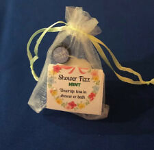 BUY MORE SALE! Shower Fizz Bath Bomb; 1/4g Peppermint Oil in Gift Pouch