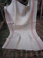 Charvet Editions French 100% Pure Linen Tea Towel COUNTRY RED Made in France