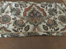 Gorgeous Croscill Jacobean Floral Tapestry Pillow Sham, King, 4 Available,Euc