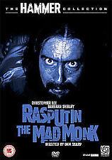 RASPUTIN THE MAD MONK DVD  HAMMER HORROR (CHRISTOPHER LEE) REGION 2
