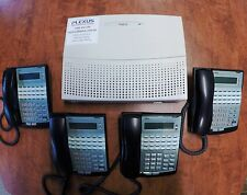 NEC Topaz Telephone System with 4 Handsets for PSTN Services