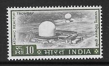 INDIA SG520 1965 10r BLACK & BRONZE GREEN MNH