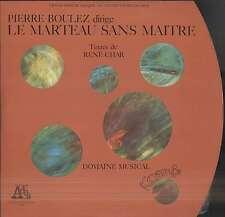Pierre BOULEZ, René CHAR, Le Marteau sans Maître French LP ADES 12004