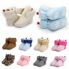 MOFEEDOUKA Baby Boys Girls Boots Winter Fleece Soft Cozy Warm Booties for Infant