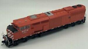 Scala H0 - Locomotiva Gmd SD40-2F Central Maine & Quebec Con Suono 24989 Neu