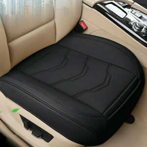 Full Surround Car Front Single Seat Protection Cover Cushion PU Leather Non-slip