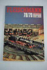 Fleischmann 78/79  Spur HO + N Dutch catalog katalog catalogus 1