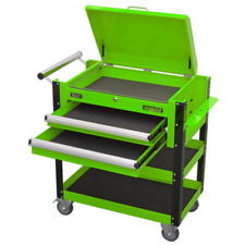 Sealey AP760MHV Heavy-Duty Mobile Tool & Parts Trolley 2 Drawers & Lockable T...