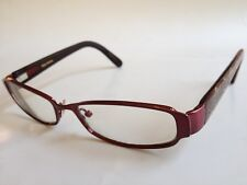 58ce83b373 Vera Wang V043 Prescription Eyeglasses 52-16-137 Red Neat Design