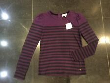 NWT Juicy Couture New & Gen. Girls Age 10 Purple Long Sleeved Top With Logo