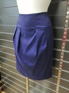 Calvin Klein Skirt Lined With Side Pockets Size 12 BNWT