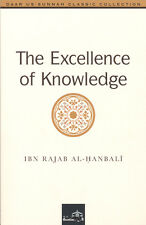 The Excellence of Knowledge by Ibn Rajab al Hanbali Islamic Muslim Classic Book