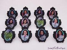 24 The DESCENDANTS Disney Cupcake Ring Favor Supplies Rings Topper Birthday