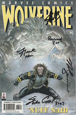 WOLVERINE Comic Marvel Signed by STAN LEE & Artists ASAMIYA & AUSTEN COA