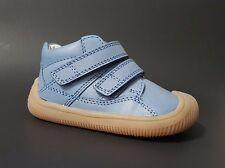 New $80 BUNDGAARD Boys Shoes Toddler Blue LEATHER European Size 5 USA/21 EURO