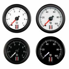 Stack Professional Oil Pressure Gauge - White Dial Face - 0-7 Bar