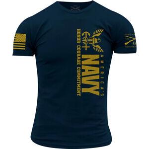 Grunt Style USN - America's Navy T-Shirt - Navy