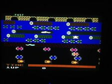 Vintage Atari Frogger Game Cartridge for 400/800/XL/XE Tested and Working