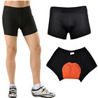 Black Man Style Cycling Underwear 3D Padded Bike/Bicycle Shorts/Pants S-3XL