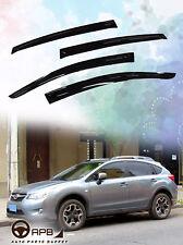 For Subaru XV 11-16 Deflector Window Visors Guard Vent Weather Shield Door Visor