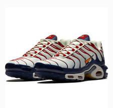 Momento recuperar licencia  Nike Air Max Plus White Sneakers for Men for Sale | Authenticity Guaranteed  | eBay