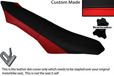 RED & BLACK CUSTOM FITS APRILIA SXV RXV 550 450 STANDARD DUAL LEATHER SEAT COVER