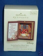 2007 Hallmark Keepsake Ornament Surprised to Meet You Winnie the Pooh