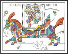 Germany 1996 Animated Horse/Clown/Circus/Animation/Animals 1v m/s ref:b9178