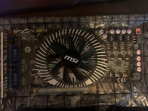 MSI NVIDIA GeForce GTS 250 (N250GTS-2D512) 512MB GDDR3 SDRAM PCI Express x16...
