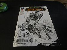 WORLD OF WARCRAFT #1 RARE SKETCH VARIANT 2ND PRINT MOVIE OUT !!!!