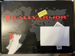 Rally Armor MF32-UR-BLK/GRY Black, Gray Mud Flap Logo 15+ Subaru Wrx and Sti New