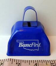 BancFirst Oklahoma Cowbell Color Blue