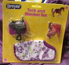 Breyer Horses Classic Purple Tack & Blanket Western Saddle Bridle #61129 NIP!