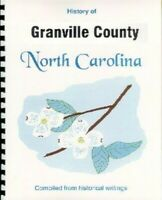 NC Granville County North Carolina history New RP compiled from 4 sources Oxford