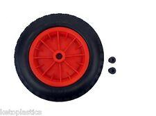 """Pu 14 """"crevaison preuve roue pneumatique brouette rouge 3.50 - 8 poids léger en mousse"""