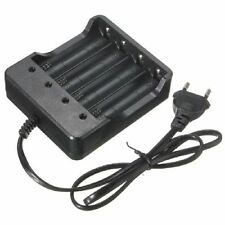 Eu Plug 4Slots Battery Charger With Protection 18650 Lithium-Ion Battery CLBD