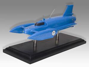 Bluebird K7 1967 Final Record Attempt Version Solid Mahogany Wood Desktop Model