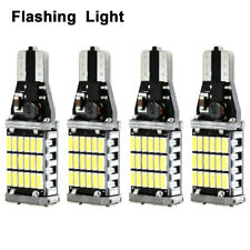 4x T15 45SMD LED Bulb Car Reverse Light 921 Bright Canbus Error Free Backup Lamp