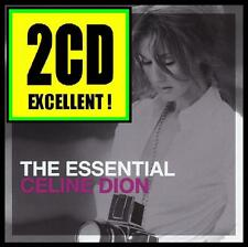 CELINE DION (2 CD) THE ESSENTIAL ~ MY HEART WILL GO ON (TITANIC) 80's 90's *NEW*