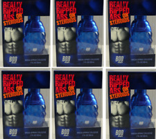 6x Bod Man Cologne Really Ripped Abs on Steroids (Limitied Edition) UNBOXED