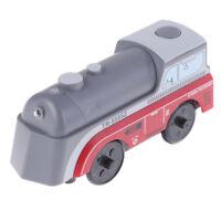 Magnetic electric iocomotive ttO22train wooden trackcompatible with brio trainME