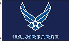 UNITED STATES AIR FORCE FLY WINGS HEAVY DUTY NYLON 3X5 FLAG military  #725 flags